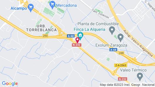 Hotel Sercotel Las Ventas Map