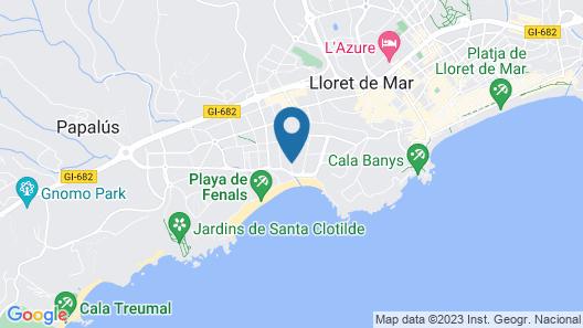 Alva Park Costa Brava Map