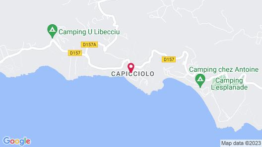 Résidence Capicciolo Map