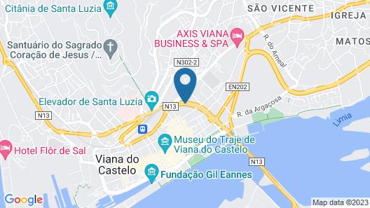 Hotel Rali Viana Map