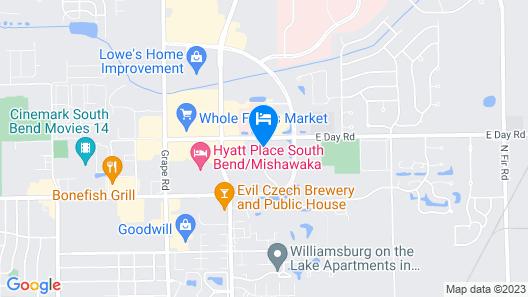 Residence Inn by Marriott South Bend Mishawaka Map