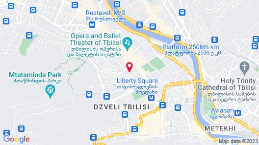 Shota@Rustaveli Boutique hotel Map