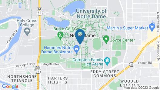 Morris Inn Map