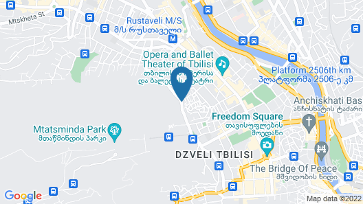 The Terrace Boutique Hotel Map