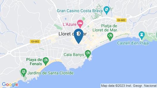 Gran Garbi Hotel Map