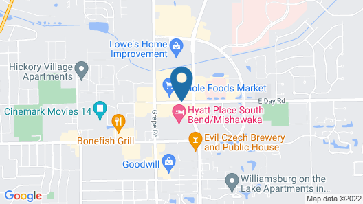 Hyatt Place South Bend / Mishawaka Map