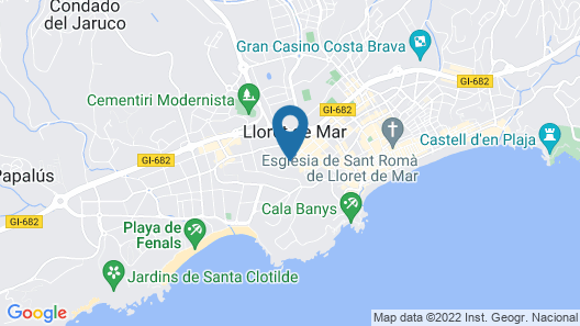 Guitart Central Park Aqua Resort 4* Map