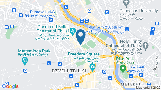 Tbilisi Marriott Hotel Map