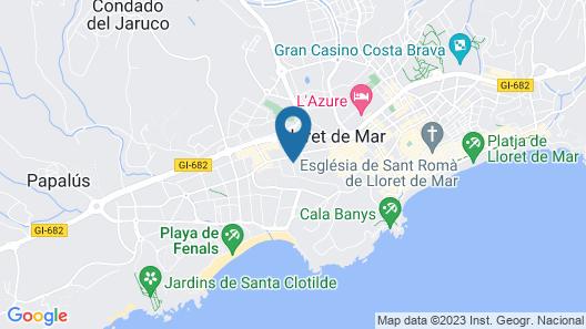 Hotel Samba Map