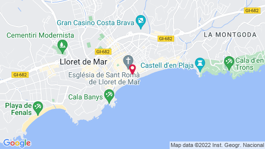Hotel Marsol Map