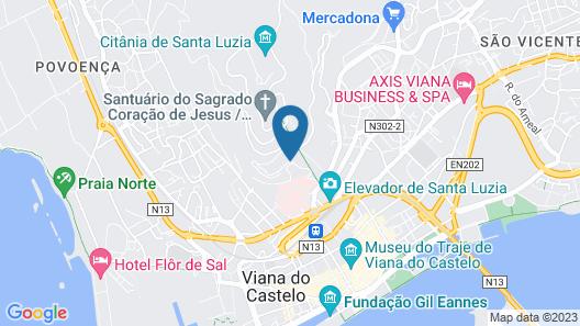 Quinta de Valverde Map