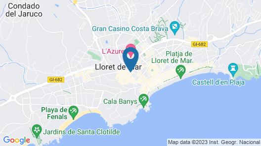 Hotel Maria del Mar Map