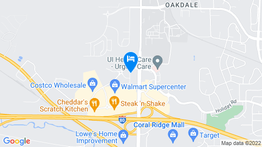 Country Inn & Suites by Radisson, Coralville, IA Map