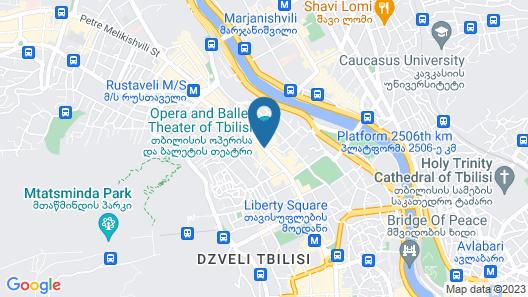 Opera Rooms&Hostel Map