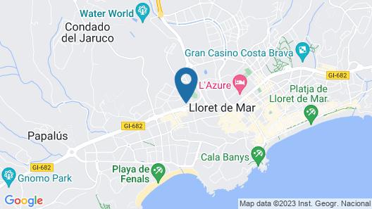 htop Royal Star & SPA Map
