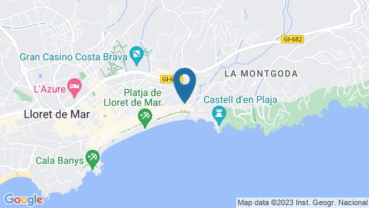 Hotel Rosamar & Spa****S Map