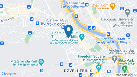 2nd Floor Tbilisi Boutique Hotel Map