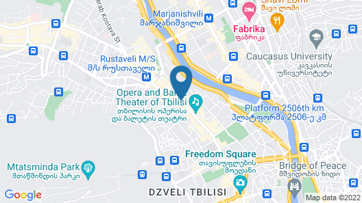 The Biltmore Hotel Tbilisi Map