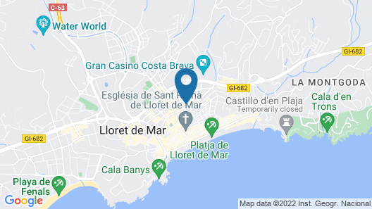 Anabel Hotel Map