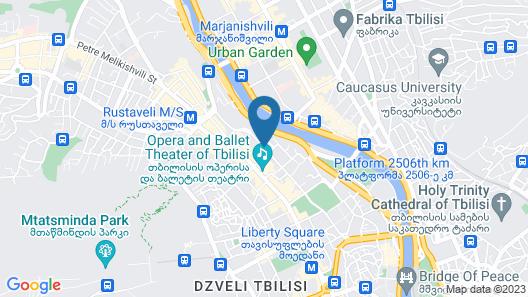 Art Boutique Hotel Map