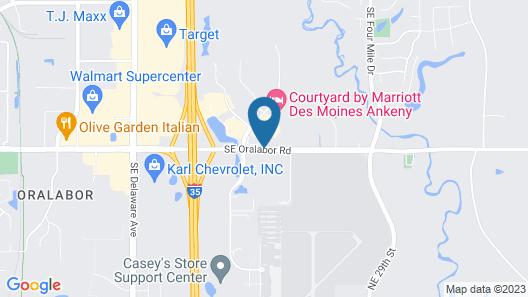 AmericInn by Wyndham Ankeny/Des Moines Map