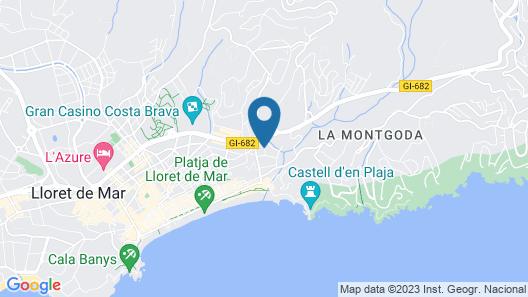Hostal Magnolia Map