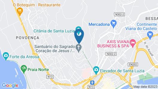 Pousada de Viana do Castelo - Historic Hotel Map
