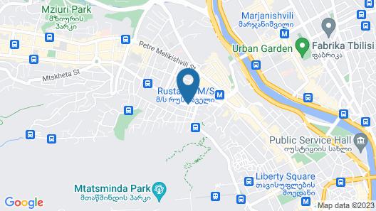 Veranova Hotel Map