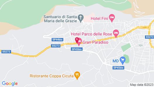 Gran Paradiso Hotel Spa Map