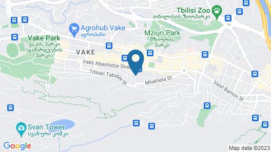 Hotel VIP Victoria Map