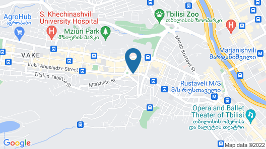 Best Western Tbilisi City Center Map