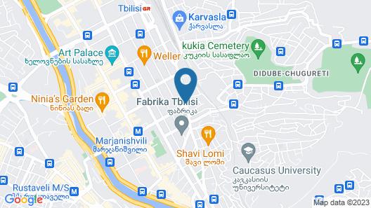 Hotel ZP Palace Map