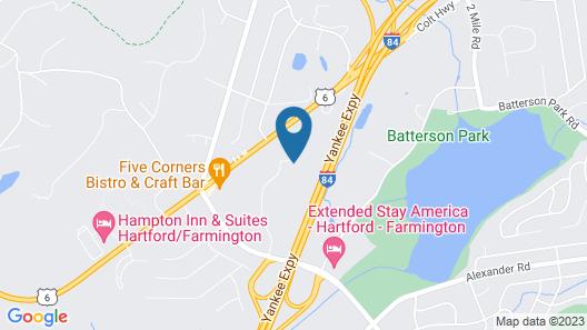 Hartford Marriott Farmington Map