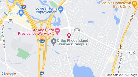Crowne Plaza Providence-Warwick Airport, an IHG Hotel Map