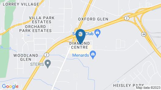 Residence Inn By Marriott Cleveland Mentor Map
