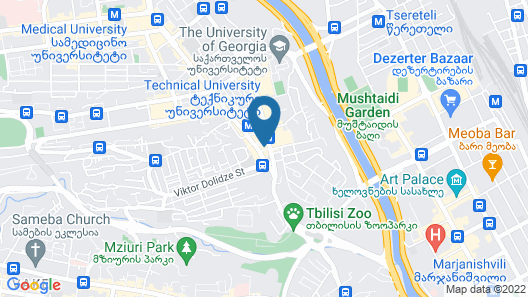 Holiday Inn Tbilisi, an IHG Hotel Map