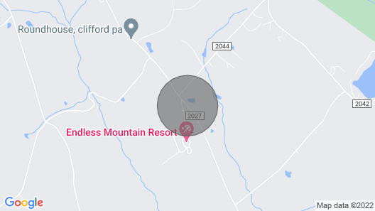 Beautiful, Luxurious, Scenic Mountain Vacation Home Map