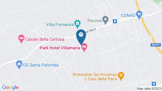 Park Hotel Villamaria Map