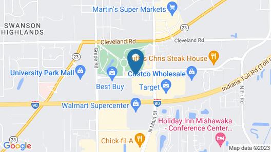 Fairfield Inn & Suites by Marriott South Bend Mishawaka Map