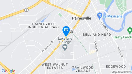 Steele Mansion Map