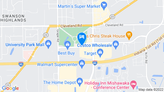 Country Inn & Suites by Radisson, Mishawaka, IN Map