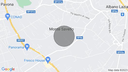 Cape House - Deluxe-huvila Map