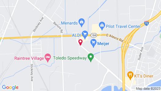 Fairfield Inn & Suites by Marriott Toledo North Map