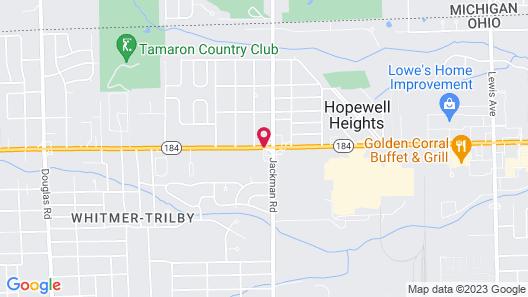 Crown Inn Map