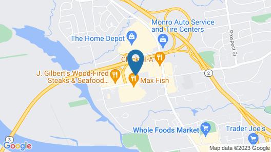 Hilton Garden Inn Hartford South/Glastonbury Map