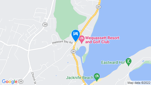 Wequassett Resort and Golf Club Map