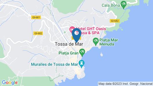 Hotel GHT Costa Brava & SPA*** Map