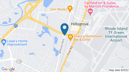 Holiday Inn Express Hotel & Suites Warwick-Providence (Arpt) Map