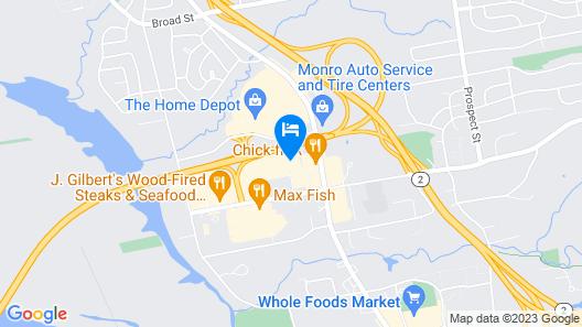 Homewood Suites by Hilton-Hartford South-Glastonbury, CT Map