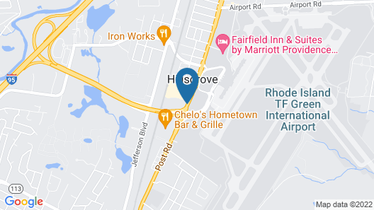 Best Western Airport Inn Map